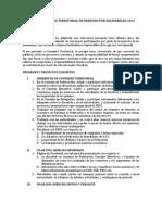 Programa Territorial - Version Ejecutiva