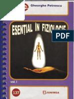 Esential in Fiziologie -Vol 1 (Gheorghe Petrescu) Iași, 2008