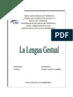 La Lengua Gestual