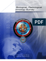 "US Defense Threat Reduction Agency/Joint Science and Technology Office ""Chemical, Biological, Radiological Technology Survey – Biosurveillance""."