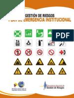 Plan de Emergencia Institucional SNGR