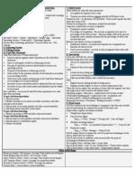Accounting I Crib Sheet