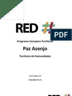 Programa Consejera Territorial Humanidades