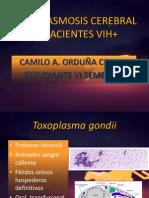 Toxoplasmosis Cerebral en Pacientes Vih+