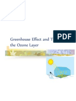 Greenhouse Effect and Thinning of the Ozone Layer