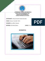 Consulta 1 Informatica y Repres. de Datos