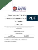 BMK 3023 Kemahiran Komunikasi (Tugasan 1)
