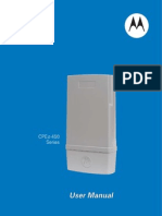 CPEo 450 User Manual