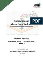 Manual Windows, Word y Power Point 7