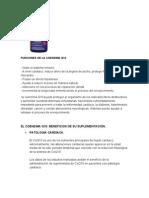 Funciones de La Coenzima q10
