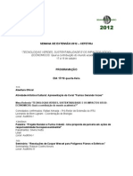 SEMANA DE EXTENSAO 2012 – CEFET-RJ