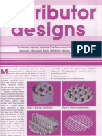 Liquid Distributor Design