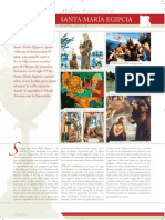 El milagro eucarístico de Santa María Egipcia, Egipto Siglo VI