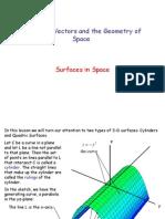 Quadric Surfaces