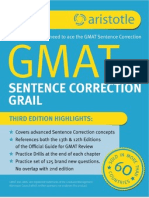 Aristotle Prep GMAT Sentence Correction Grail 3rd Edition Sample