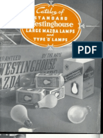 Westinghouse 1935 Mazda Lamp Catalog