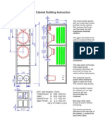 Cabinet Building Instruction and 3-Way Crossover