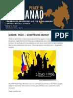 Bangsamoro Press Kit