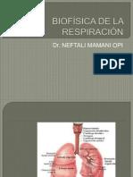 BIOFÍSICA DE LA RESPIRACIÓN (2)