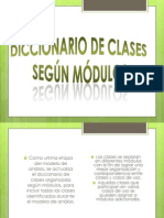 Diccionario de Clases