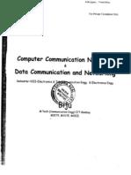 Computer Communication Networks & Data Communication & Networking (SEM - VIII)