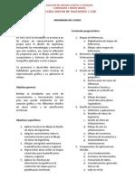 Programa del curso - Diseño de ingenieria y CAD-2