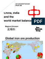 China, India and the World Market Balance