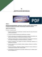 identificación bacteriana
