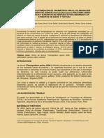 Determinacion y Optimizacion de Parametros Para La Elaboracion de Chifon