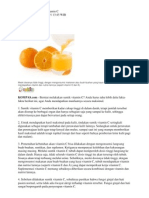 6 Fakta Tentang Suntik Vitamin C