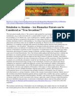 Metabolon vs. Stemina