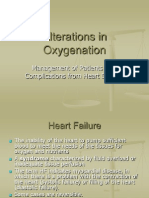 Alterations in Oxygenation 14