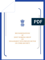 Engagement With Private Sector on Cyber Security (2012)