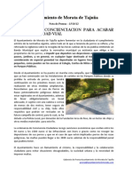 CAMPAÑA DE CONCIENCIACION PARA ACABAR CON LA SUCIEDAD VIAL