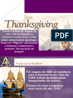 Aula1 American Literature First Thanksgiving