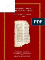 The NT in the Original Greek