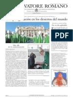 L´OSSERVATORE ROMANO. 14 Octubre 2012