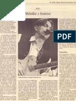 """Crónica de """"El País"""" del concierto de Prefab Sprout en Madrid"""