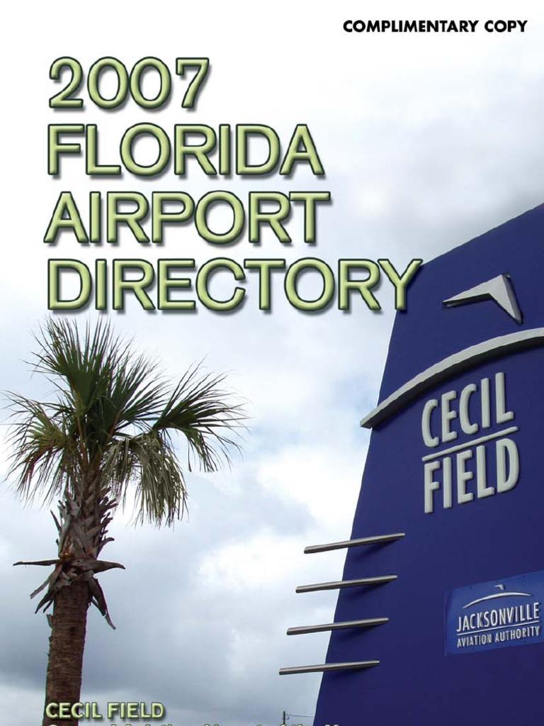 florida airports directory 2007 airport runway