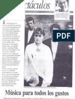 Información sobre Prefab Sprout en El Independiente (23 de noviembre de 1990)