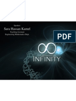 [E-WEB] Mathematics Story | Talk. 2 | Infinity Concept | Eng. Sarah Hassan Kamel