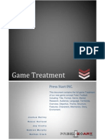 Game Treatment Document