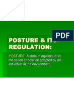 Posture & Its Regulation