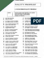 Personality Profiles