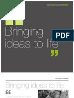 Bringing Ideas to Life