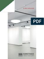 Kunsthaus Troisdorf - Einladung zur Eröffnung am 26.10.12 um 20 Uhr