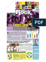 SPC Rock Broadsheet 2012