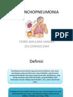 Broncho Pneumonia