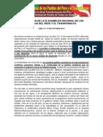 DECLARACIÓN DE LA III ANPYT