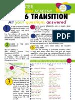 Transition Flyer 2012